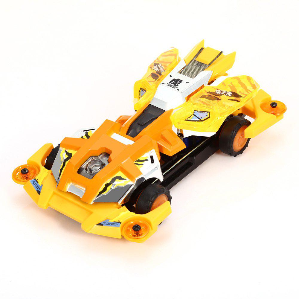 AULDEY 88009 Racing Car Kit ABS Building Brick Educational Birthday Present with Brushed Motor auldey 88010 abs racing car kit