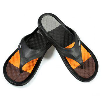 EVA Massage Flip Flops Beach Flat Sandals for Men