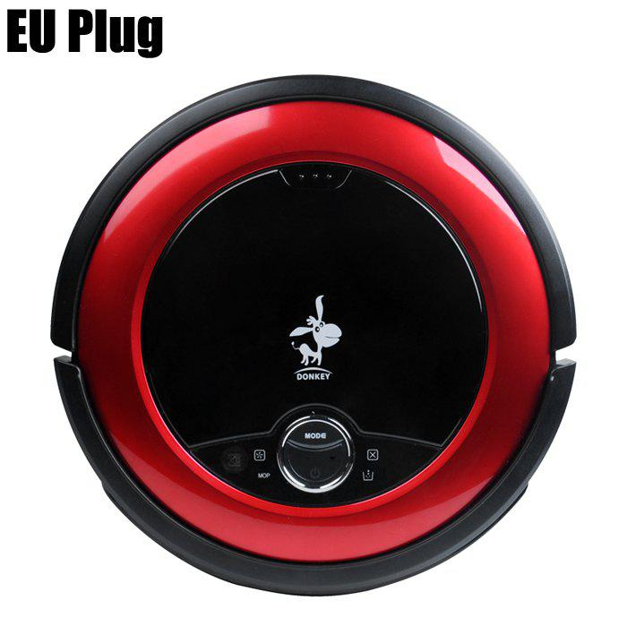 Donkey E1 Lite Middle Level Floor Cleaner Robot Smart Robotic Vacuum Cleaner Machine - RED EU PLUG