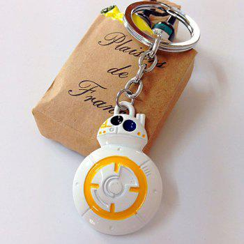 Portable Movie Robot Style Key Chain Hanging Keyring for Bag Pendant - COLORMIX COLORMIX