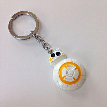 Portable Movie Robot Style Key Chain Hanging Keyring for Bag Pendant -  COLORMIX