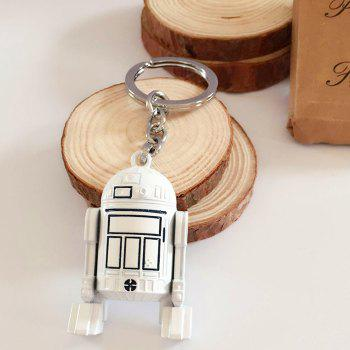 Portable Movie Robot Style Key Chain Alloy Hanging Keyring for Bag Pendant -  COLORMIX