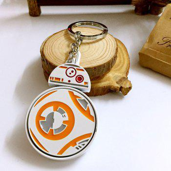 Movie Robot Style Key Chain Hanging Keyring for Bag Pendant -  COLORMIX