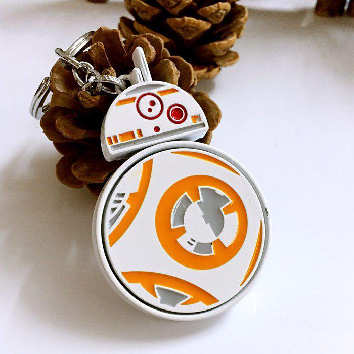 Movie Robot Style Key Chain Hanging Keyring for Bag PendantHome<br><br><br>Color: COLORMIX