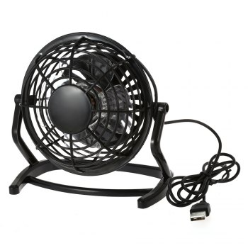 Lione - 816 USB Powered Adjustable 4 inch Mini Desktop Fan for Office