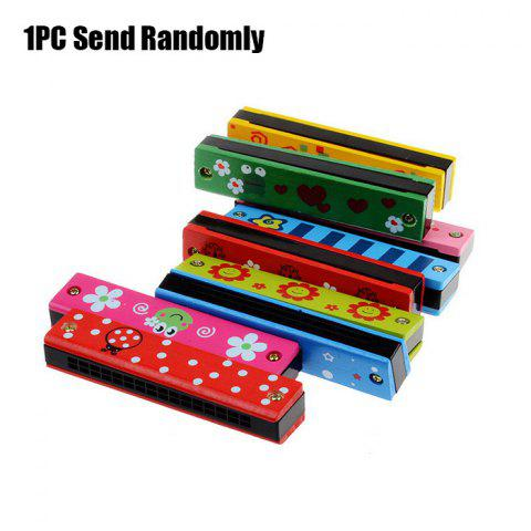 Painting Electronic Harmonica Early Educational Instrument Toy for Kid Child - COLORMIX