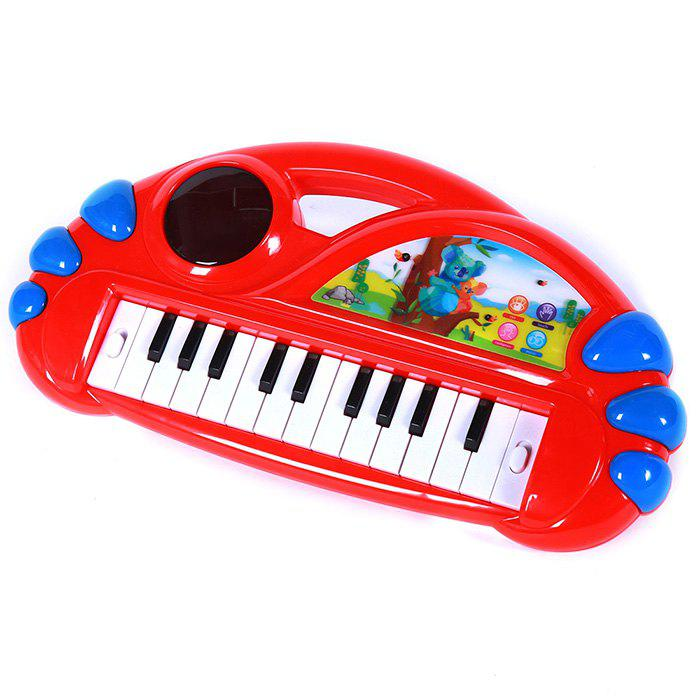 Cartoon Animal Electronic Organ Piano Early Educational Toy for Kid Child - COLORMIX