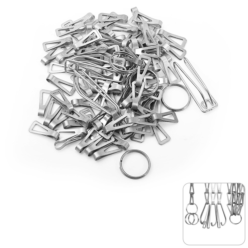 Keith Ti1600 Lightweight Titanium Hanging Chains DIY 100pcs + Accessories