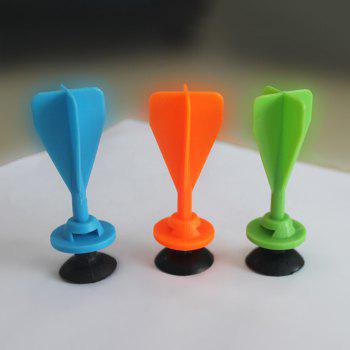 Plastic and Rubber Safe Sucker Dart Intelligence Throwing Toy 1pc