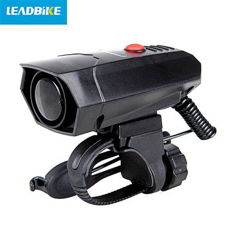 LEADBIKE A14 100 - 120dB Bicycle Electronic Horn for Cycling - BLACK