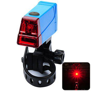 LEADBIKE A55 LED Bicycle Night Tail Light for Cycling Safety - BLUE BLUE