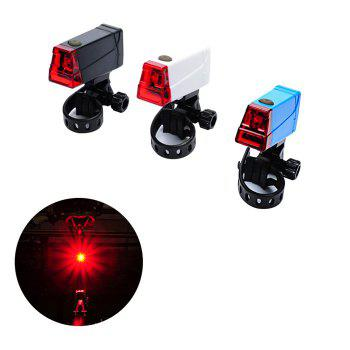 LEADBIKE A55 LED Bicycle Night Tail Light for Cycling Safety -  WHITE