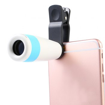 Roof BAK - 4 Prism 8X HD Monocular Portable Mobile Phone Accessory with Clip