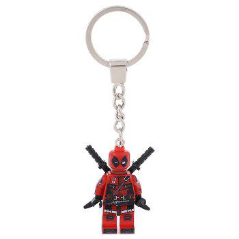 Soldier Shape Hanging Pendant Plastic Key Chain Movie Product Bag Decor - 3.14 inch - STYLE 1 STYLE 1