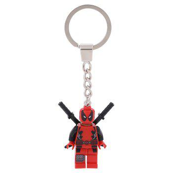 Soldier Shape Hanging Pendant Plastic Key Chain Movie Product Bag Decor - 3.14 inch - STYLE 2 STYLE 2