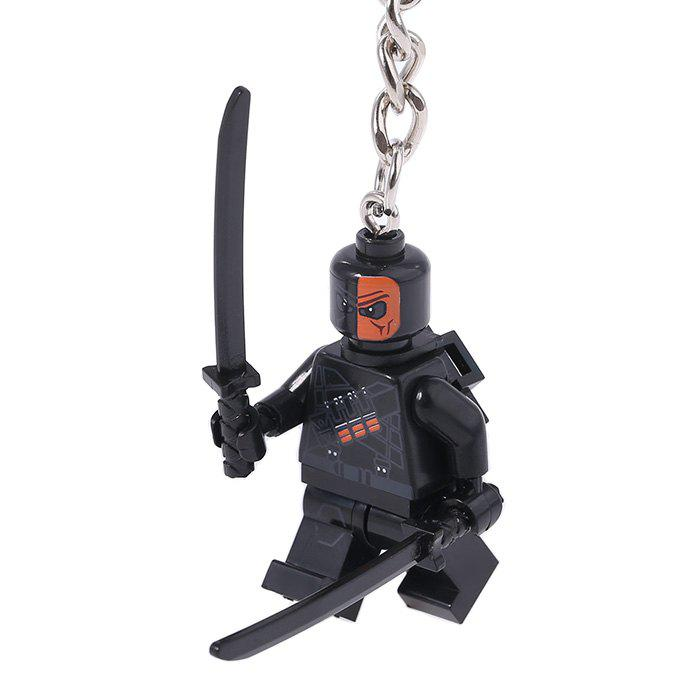 Soldier Shape Hanging Pendant Plastic Key Chain Movie Product Bag Decor - 3.14 inch ремень tommy hilfiger ww0ww11590 244 dark brown