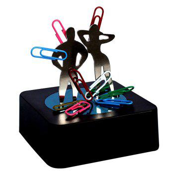 Creative Magnetic Sculpture Kit Souvenir Puzzle Toy with Base for Decompression