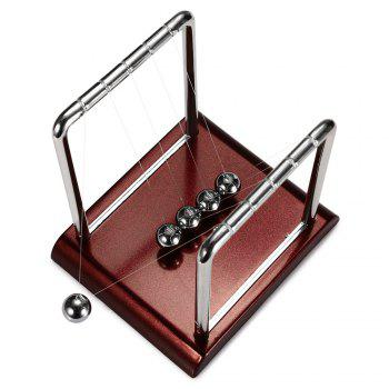 1cm Metal Newton Cradle Balance Ball Physical Pendulum Novelty Desktop Toy