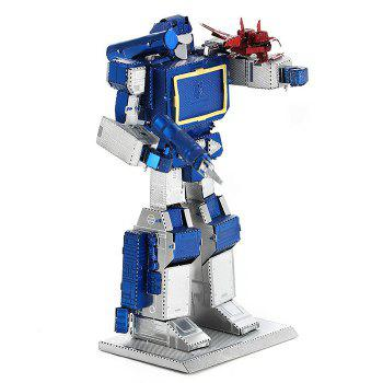 ZOYO 3D Metal Figure Style Metallic Building Puzzle Educational Assembling Toy