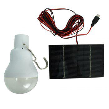 BK.BOL S1500 Creative 12 LEDs 150LM Solar Energy Bivouac Lamp Bulb Tent Light Outdoor Travel Hiking Camping Supplies