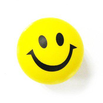 6.3cm Novelty Printing Smile Face Squeeze Ball Stress Release Toy for Kid