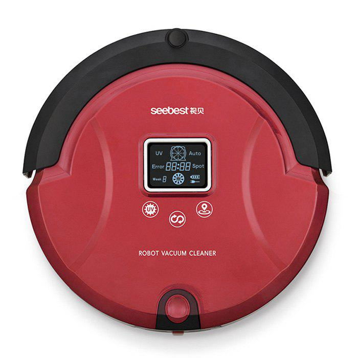 SEEBEST C561 Smart Robotic Vacuum Cleaner Dry Wet Cleaning UV Sterilization - EU PLUG RED