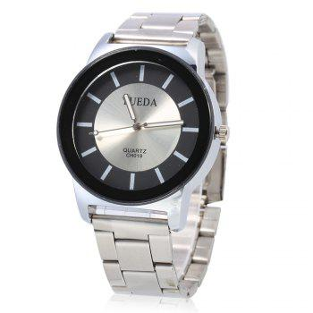 YUEDA CH019 Fashion Nail Scale Quartz Watch for Men