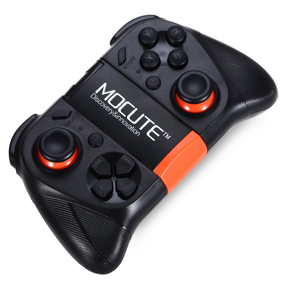 MOCUTE - 050 Bluetooth 3.0 Wireless Gamepad Game Controller for Android Smartphone / TV Box - BLACK