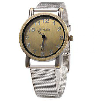 BOLUN C36 Vintage Color Retro Wind Male Quartz Watch