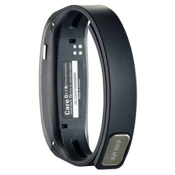 GOLiFE Care Bluetooth 4.0 Smart Wristband with Sleep Monitor Medicine Time Reminder - GRAY