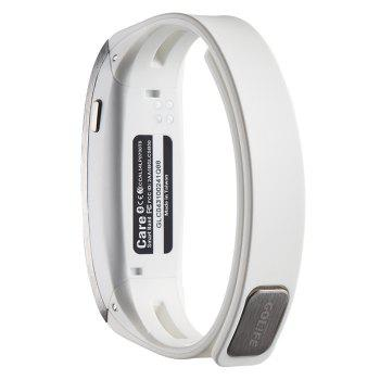 GOLiFE Care Bluetooth 4.0 Smart Wristband with Sleep Monitor Medicine Time Reminder -  WHITE