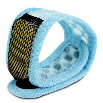 Replaceable Summer Mosquito Repellent Wristband - LIGHT BLUE LIGHT BLUE