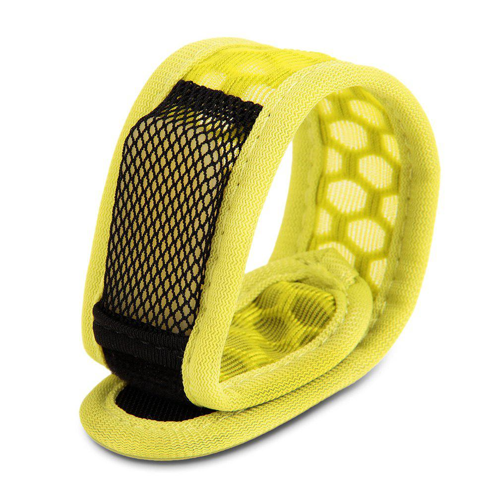Replaceable Summer Mosquito Repellent Wristband - Jaune