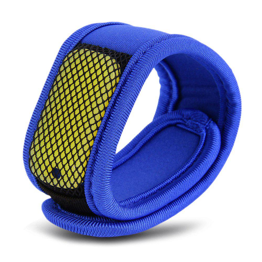 Replaceable Summer Mosquito Repellent Wristband - Bleu
