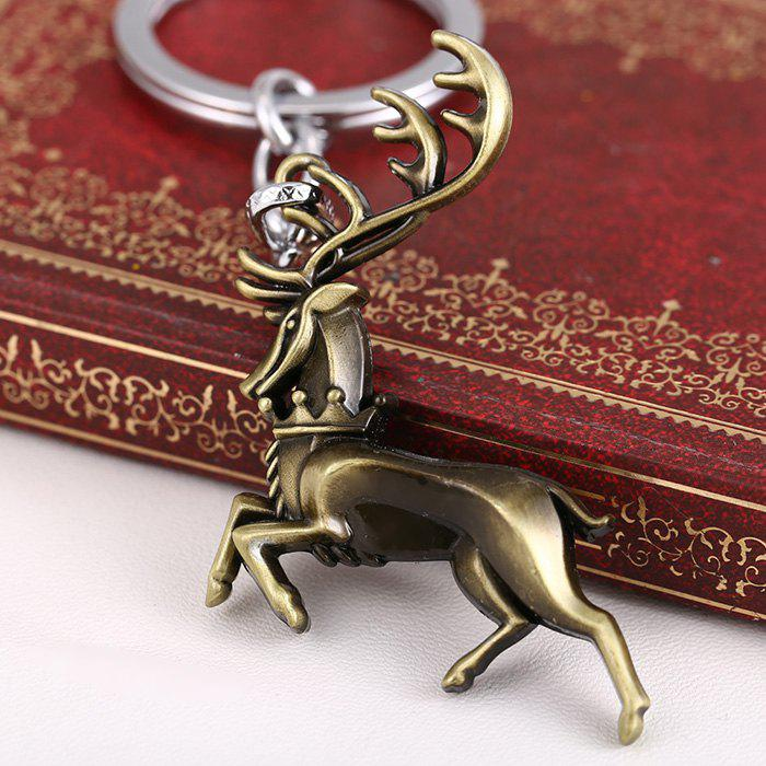 Buck Shape Hanging Pendant Zinc Alloy Key Chain Movie Product Bag Decoration