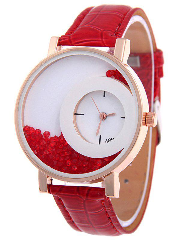 Sweet Drift Sand Watch - RED