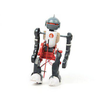 DIY Electric Tumbling Robot Kit 3-mode Science Assembly Toy for Children -  COLORMIX