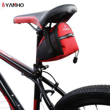 YANHO YA099 Water Resistant Bicycle Saddle Bag with Reflective Strap