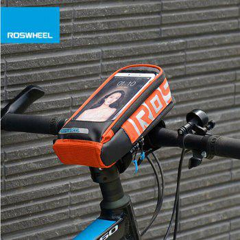 Roswheel 111272 Touch Screen Water Resistant 5.7 Inches Cycling Front Bag