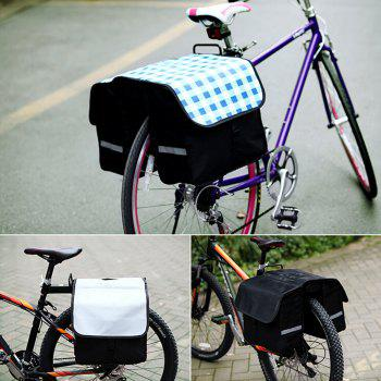 Roswheel 14031 28L Bicycle Rear Rack Bag Extra Strong Water Resistant Saddle Pack