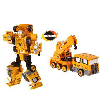 Transform Warrior 3D Robot Car Building Block Puzzle - STYLE 4 STYLE 4