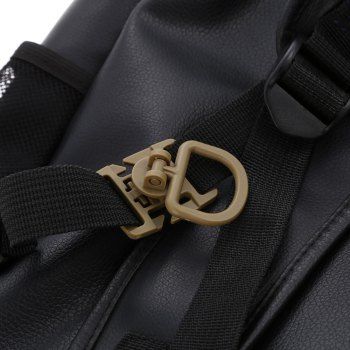 5pcs Rotating D-ring Buckle Clip Backpack Accessory