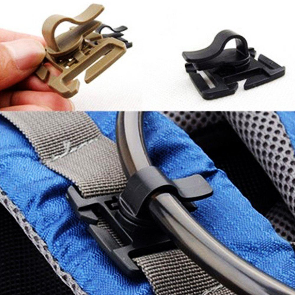 5pcs Rotating Drink Tube Clamp Clip for 2 / 2.5cm Width StrapHome<br><br><br>Color: COLORMIX
