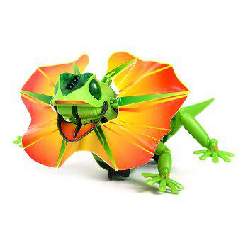 DIY Puzzle Infrared Sensor Electric Lizard Robot Science Education Assembly Toy for Children -  COLORMIX