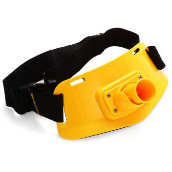 KL - 16 Portable ABS Fishing Rod Holder Waist Belly Belt for Fisherman -  COLORMIX
