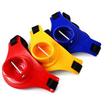 KL - 15 Portable ABS Fishing Rod Holder Waist Belly Belt for Fisherman - COLORMIX COLORMIX