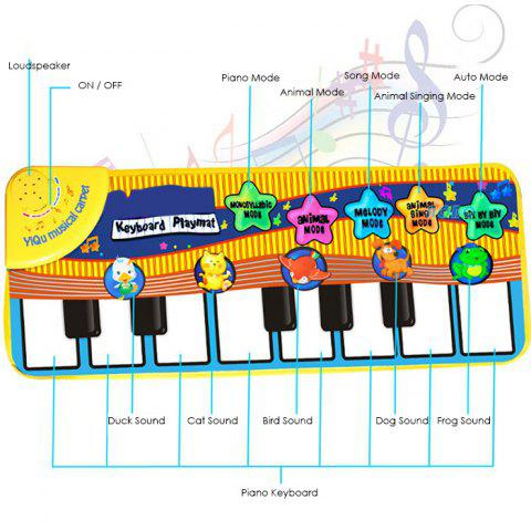 Animal Piano Music Mat for Enhancing Kid Intelligence Development - COLORMIX