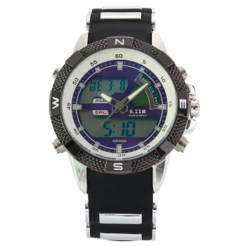 6.11 8156A Male Sports Digital Quartz Watch with Japan Movement