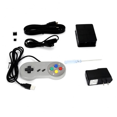 Starter Kit with USB Controller for Raspberry Pi 3 Model B - COLORMIX