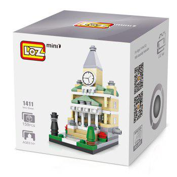 LOZ ABS Street View Architecture Building Block Educational Movie Product Kid Toy - 159pcs - COLORMIX STYLE3